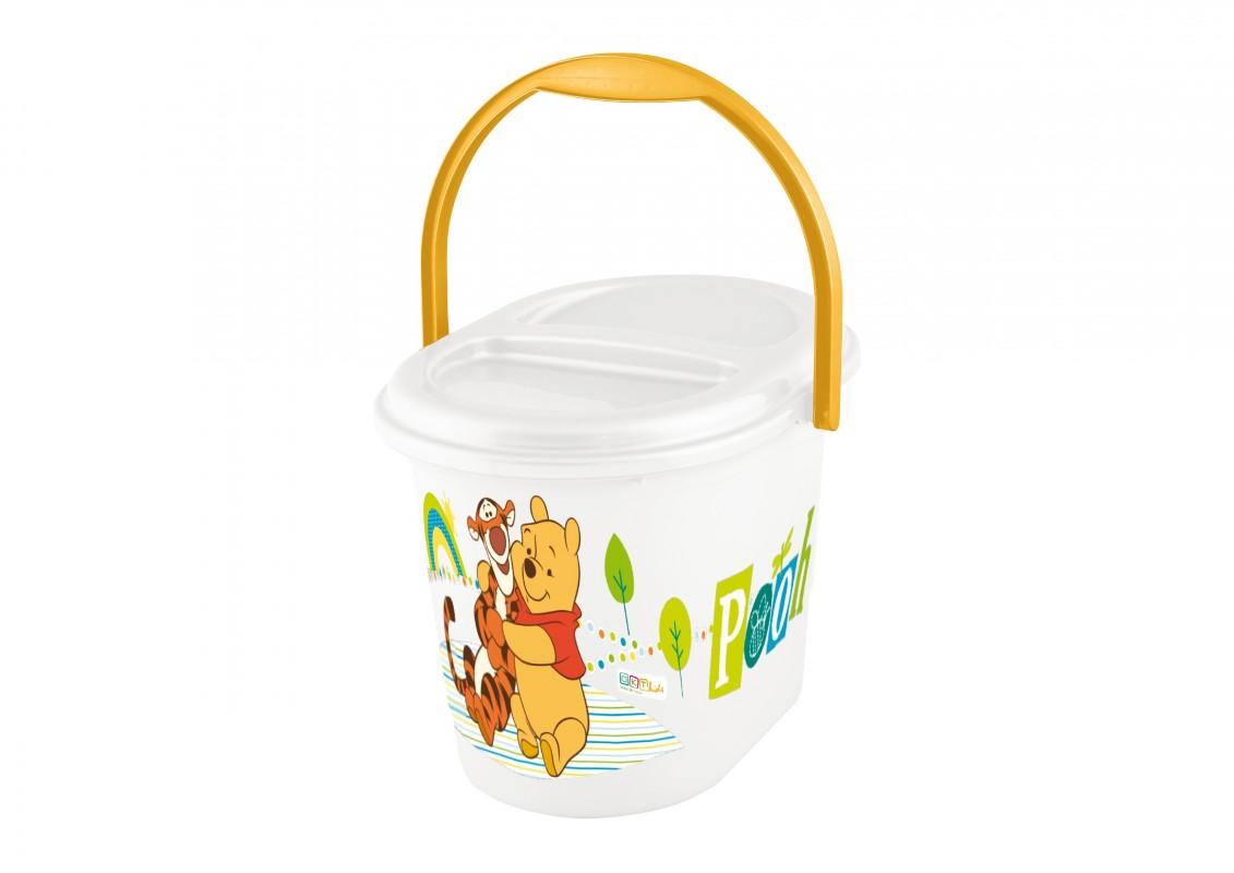 PRIMA BABY - Koš na pleny Winnie Pooh - Bílý