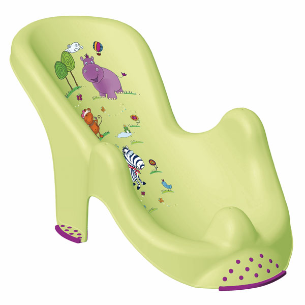 PRIMA BABY - Lehátko do vany Hippo - zelené