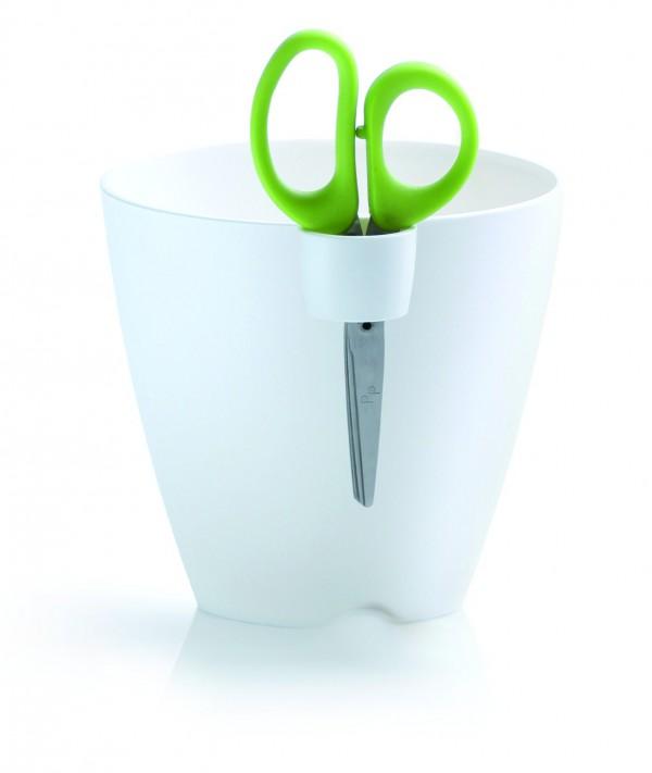 PROSPERPLAST - Plastový květináč Limes Uno + nůžky