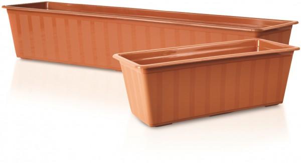 PROSPERPLAST - Plastový truhlík 60 cm Agro Terakota