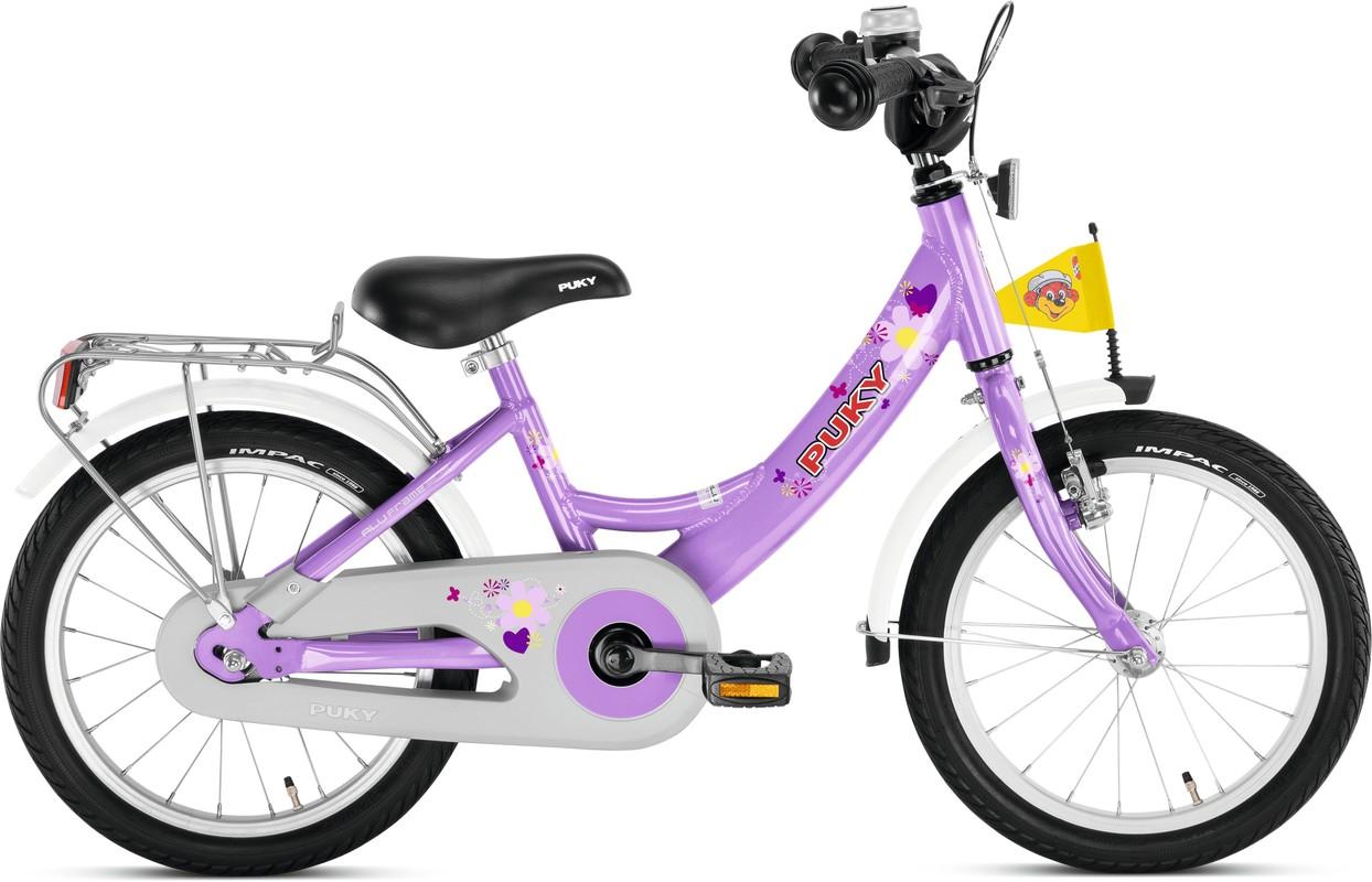 PUKY - Dětské kolo ZL 16 Alu - fialový