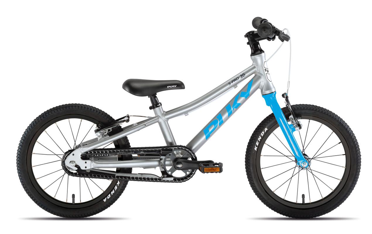 PUKY - Dětské kolo S PRO 16-1 Alu - stříbrná/modrá