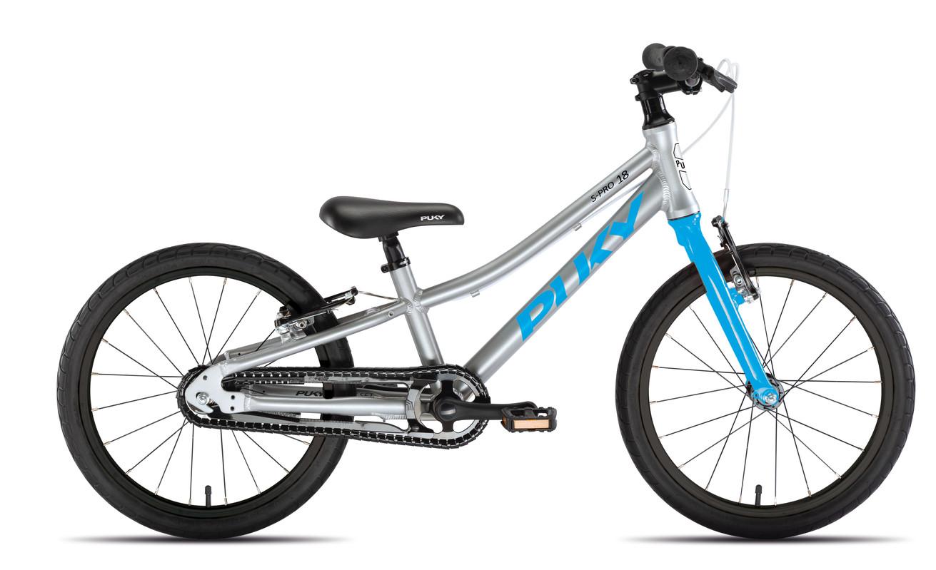 PUKY - Dětské kolo S PRO 18-1 Alu - stříbrná/modrá