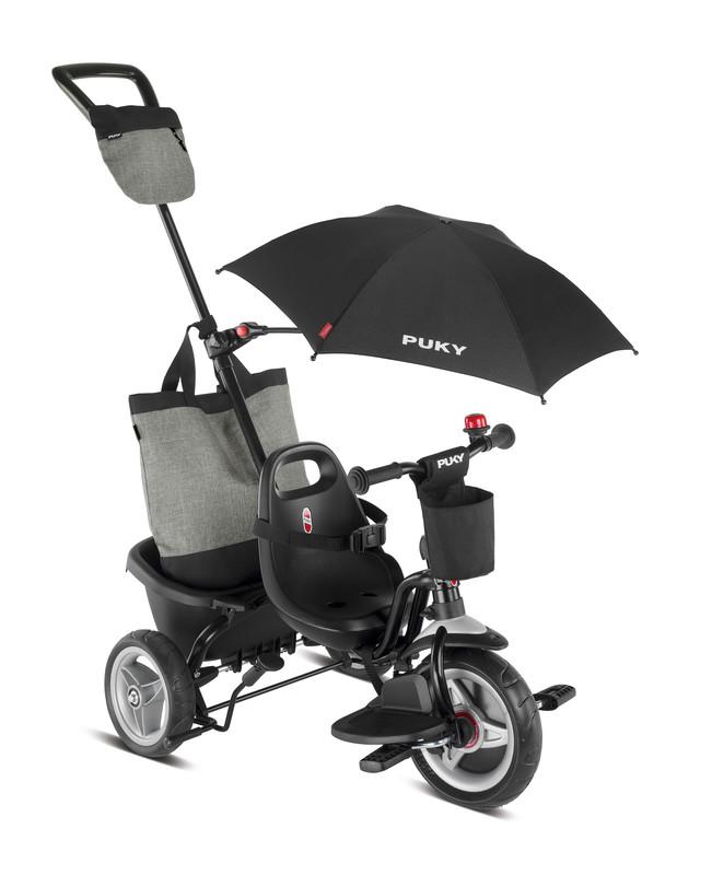 PUKY - Dětská trikolka Ceety Comfort - černá