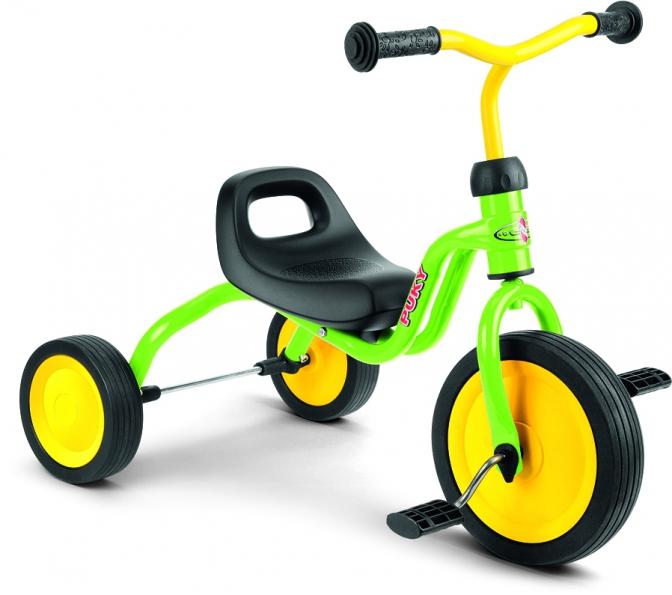 PUKY - Dětská tříkolka Fitsch - kiwi