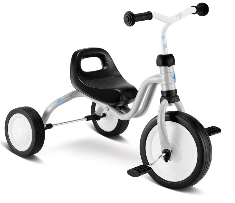 PUKY - Dětská tříkolka Fitsch - světlešedá