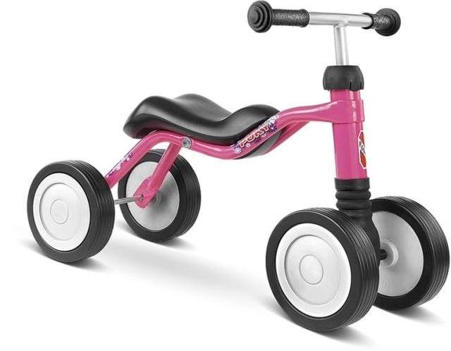 PUKY - Dětské odrážedlo Wutsch - lovely pink