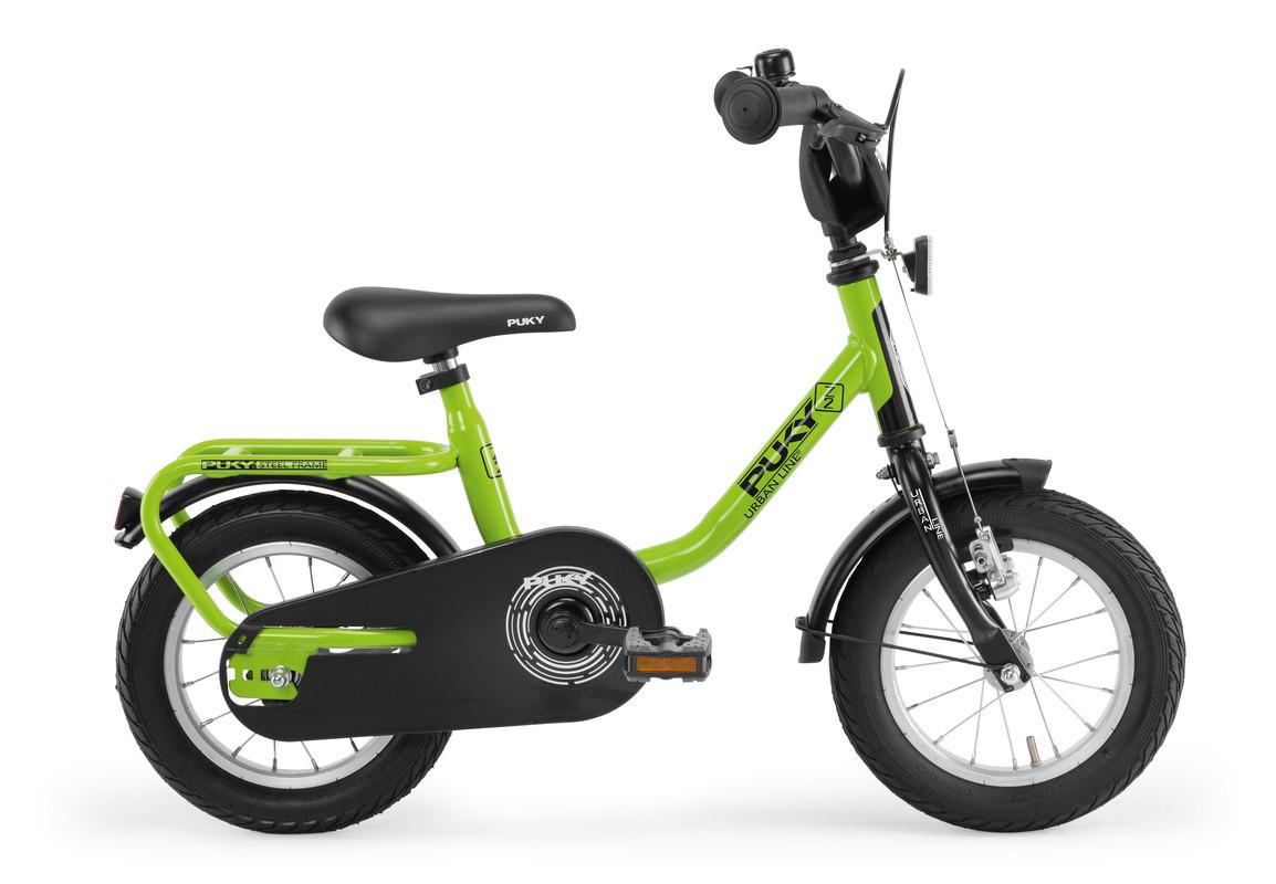 PUKY - Dětské kolo Z2 - kiwi / černá 2019