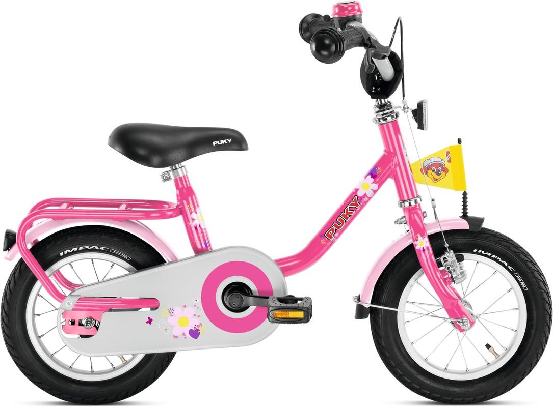 PUKY - Dětské kolo Z2 - růžový