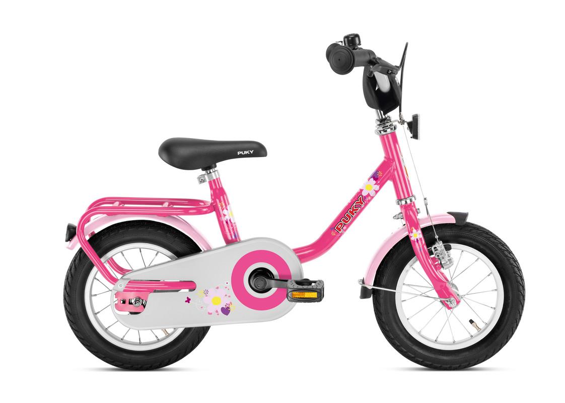 PUKY - Dětské kolo Z2 - růžové 2019
