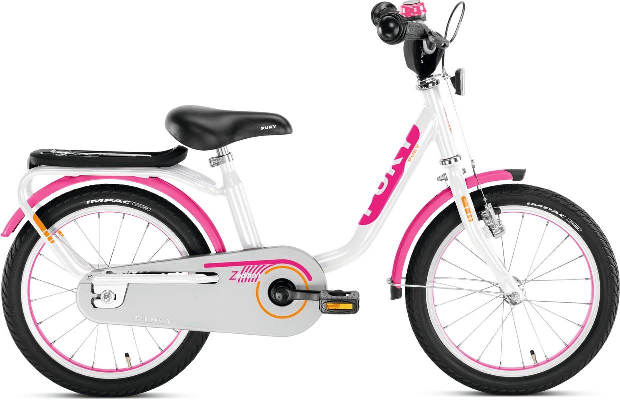 PUKY - Dětské kolo Z6 Edition - bílo / růžové