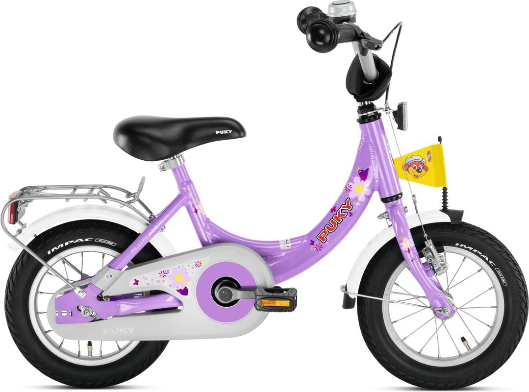 PUKY - Dětské kolo ZL 12 Alu - fialový