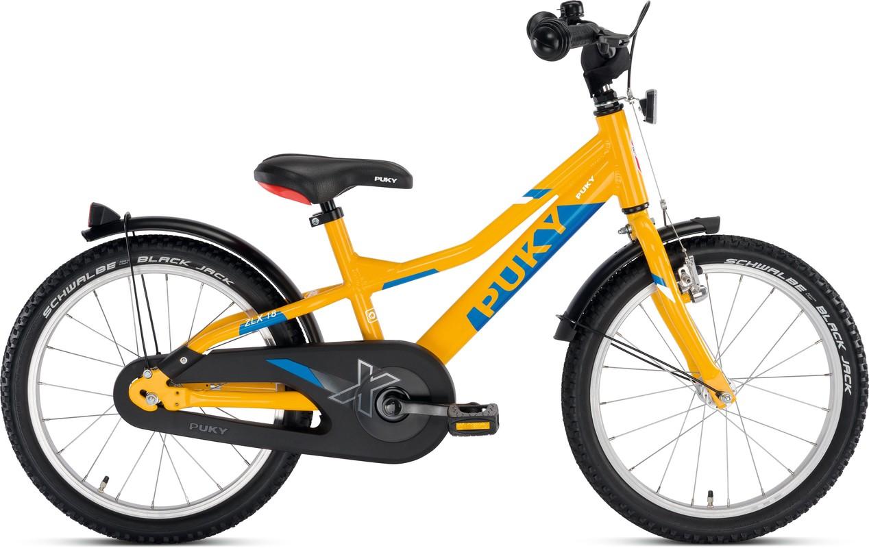 PUKY - Dětské kolo ZLX 18-1 Alu - oranžový