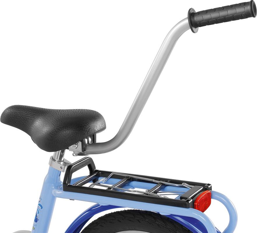 PUKY - Tyč pro tlačení kola - stříbrná