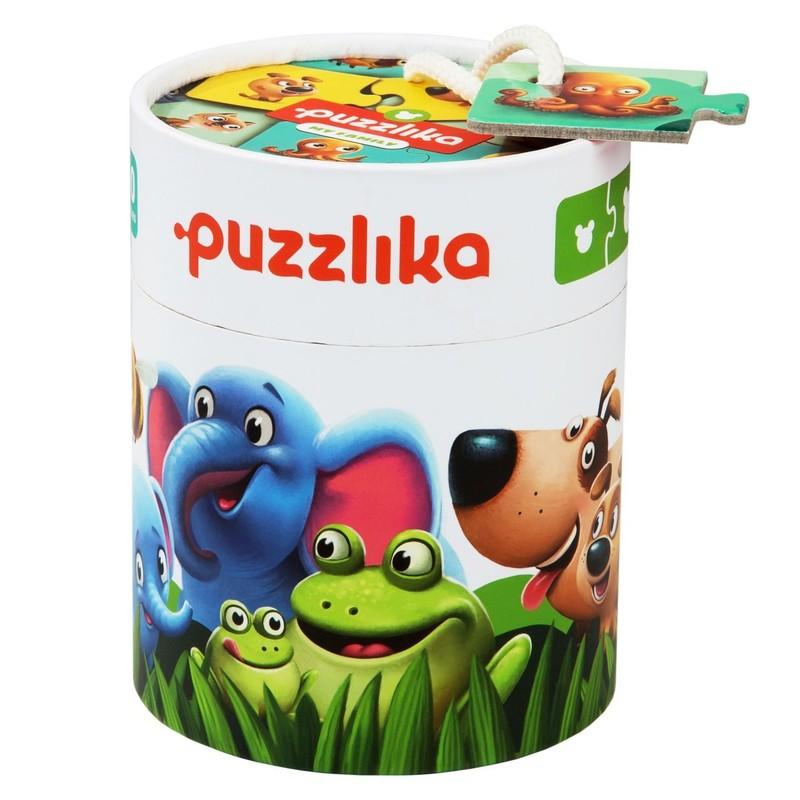 PUZZLIKA - 13531 Moje rodina - naučné puzzle 20 dílků
