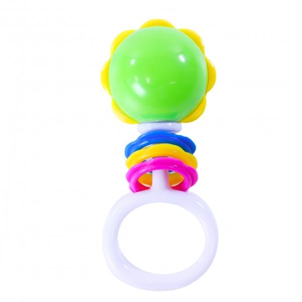 RAPPA - Chrastítko koule s tvary a úchytem