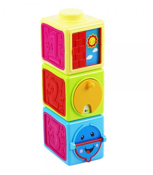 RAPPA - Kostky naučné baby 3 ks