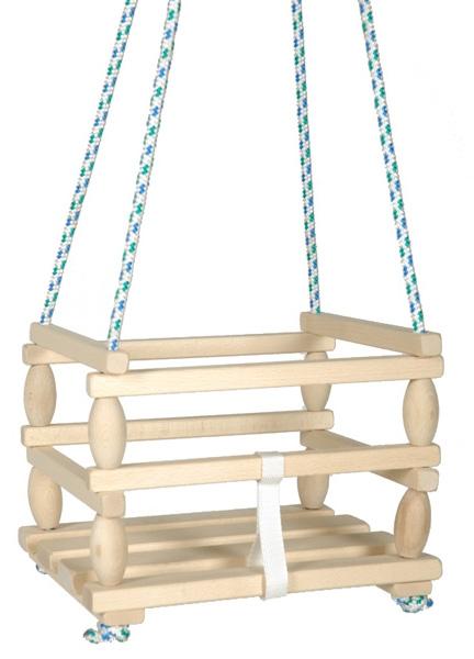 RAPPA - Dřevěná houpačka Baby