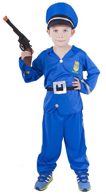 RAPPA - Kostým Modrý policista M RAPPA