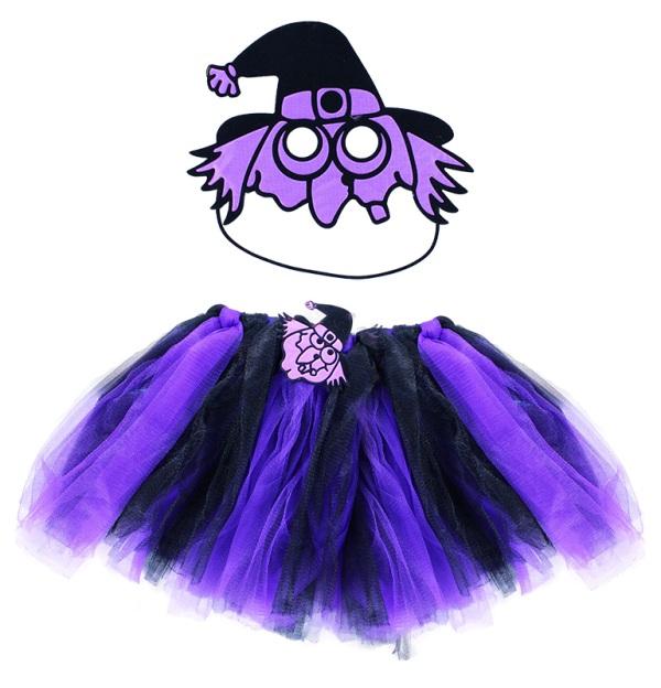 RAPPA - Kostým čarodějnice s maskou RAPPA