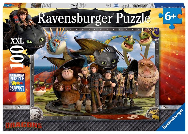 RAVENSBURGER - Jak vycvičit draka 2 100 dílků