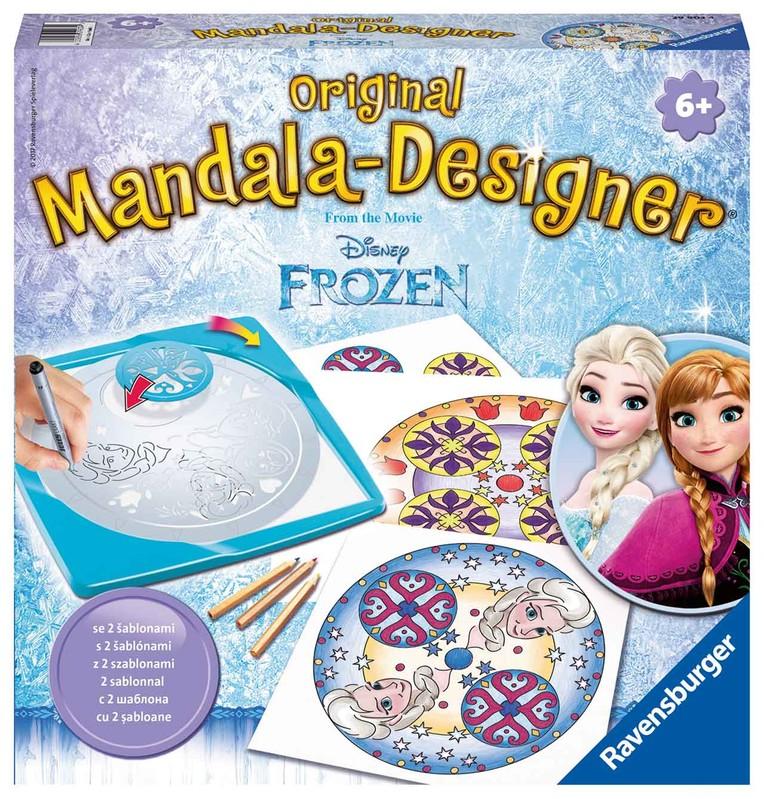 RAVENSBURGER - Disney Ledové Království Střední Mandala