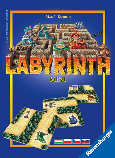 RAVENSBURGER - Labyrint Mini Hra