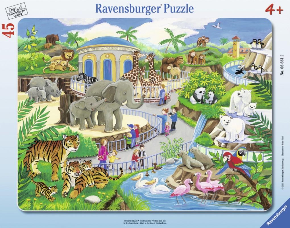 RAVENSBURGER - Návštěva V Zoo 30-48D