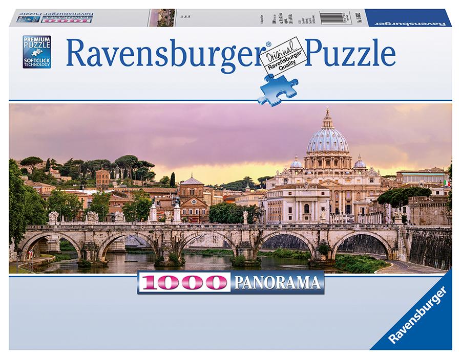 RAVENSBURGER - Řím, 1000 dílků
