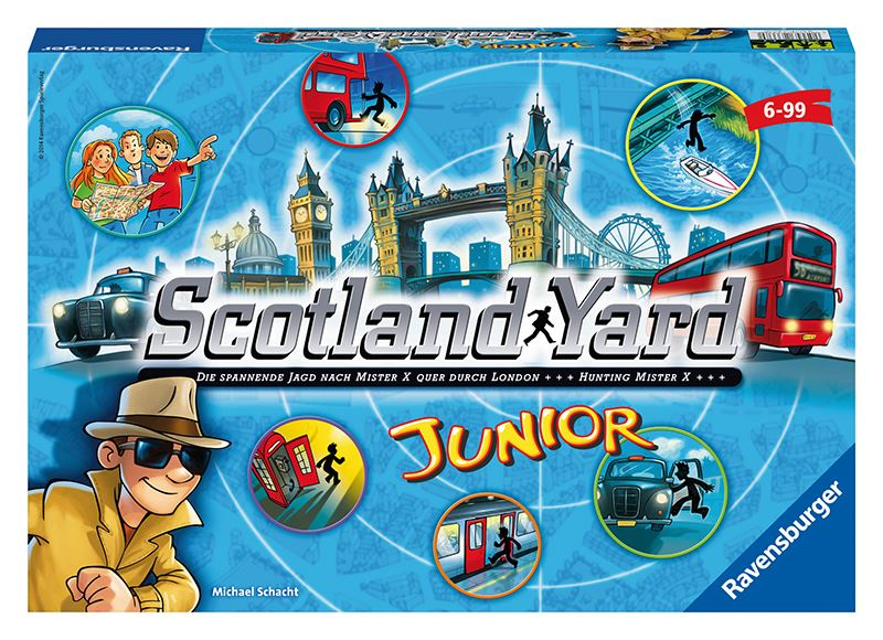RAVENSBURGER - Scotlandiard junior hra
