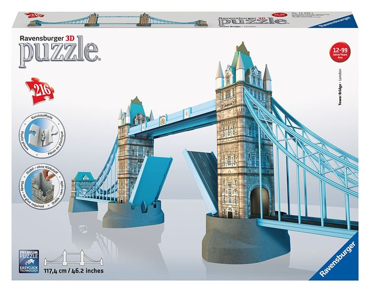 RAVENSBURGER - Puzzle Tower Bridge 3D