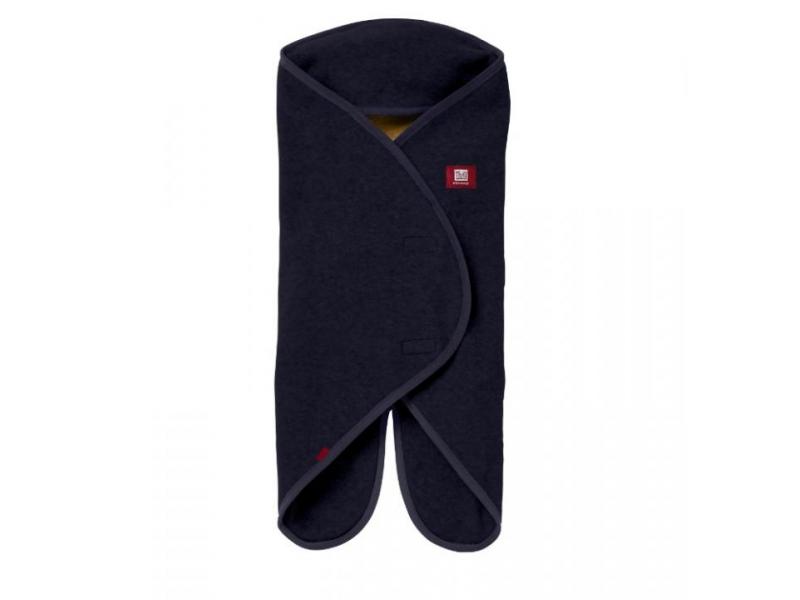RED CASTLE - Babynomade Double Fleece tmavě modrý 0-6 m