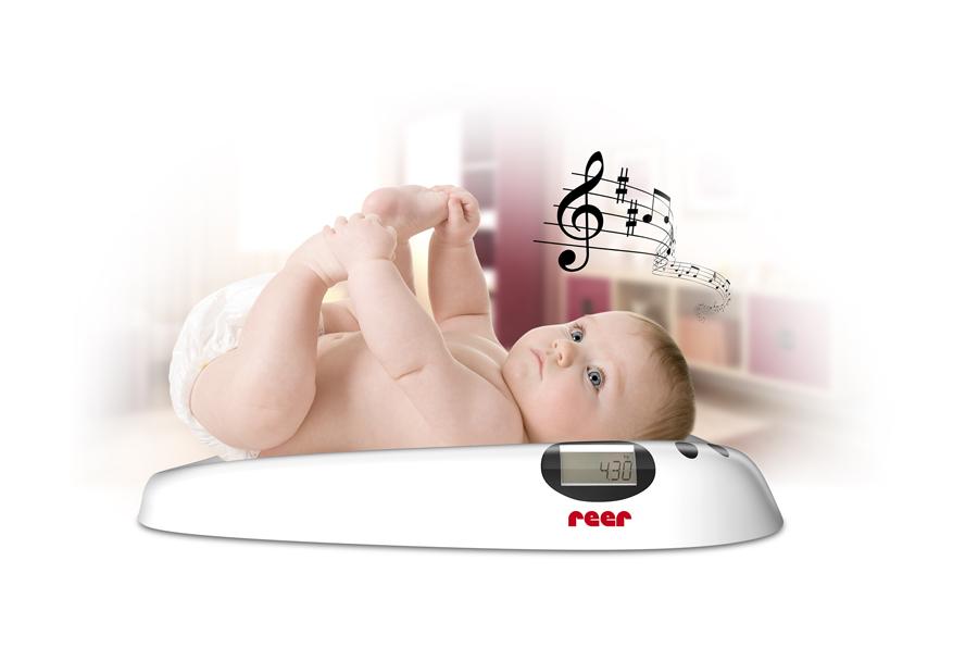 REER - Detska digitální váha s melodií