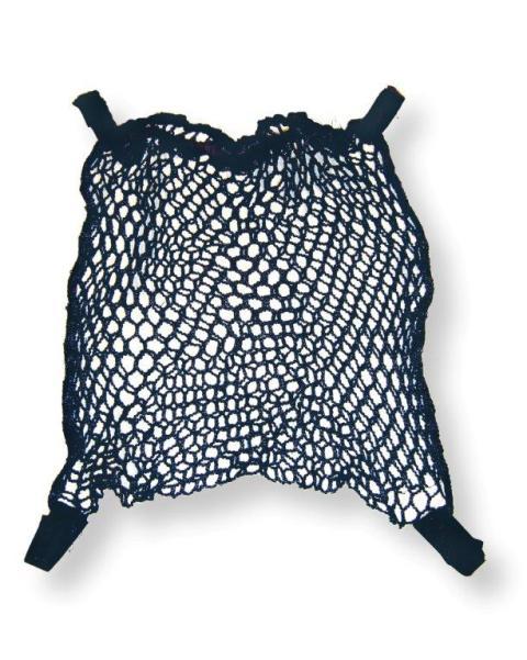 REER - Nákupní síťka na rukojeť, černá