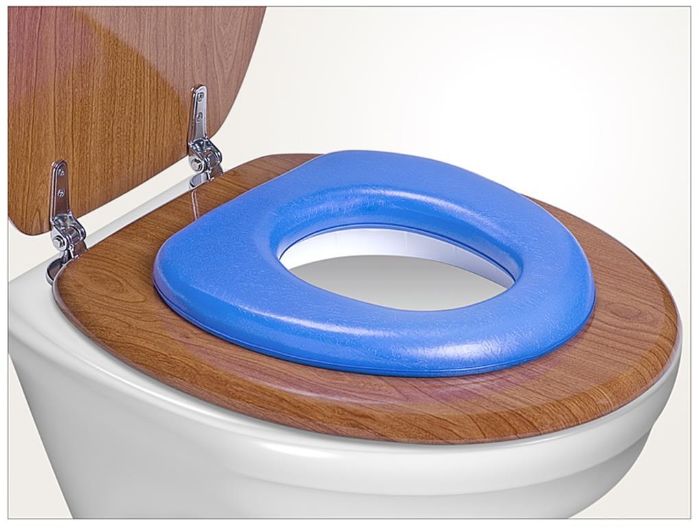 REER - WC redukce soft, modrá
