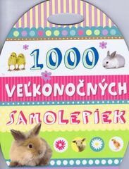 1000 veľkonočných samolepiek - autor neuvedený