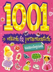 1001 samolepiek o vílach & princeznách