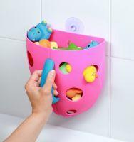 BABY ONO - Box na hračky do vany - Růžová