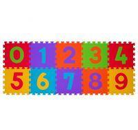 BABY ONO - Puzzle pěnové čísla 30 x 30 cm