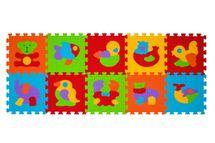 BabyOno - Puzzle pěnové zvířátka 10 ks, 6m+