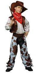 CASALLIA - Karnevalový kostým Kovboj 2 (vel. 120-130 cm)