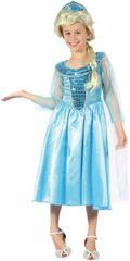 CASALLIA - Karnevalový kostým Ledová královna  Elsa M