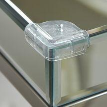 CLIPPASAFE - Plastová ochrana skleněných rohů