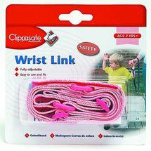 CLIPPASAFE - Vodítko na ruku pro dítě - PINK