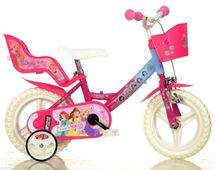 DINO BIKES - Dětské kolo 124RLPSS Princess se sedačkou pro panenku a košíkem - 12