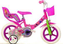 DINO BIKES - Dětské kolo 124RLTRO se sedačkou pro panenku a košíkem s licencí Trolls - 12