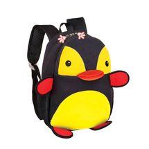 EASY - Batoh neoprenový - dětský tučňák černo-žlutý