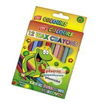 EASY - PLASTISSIMO Voskovky plastic mix 12 barev/sada