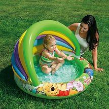 INTEX - baby bazén Medvídek Pooh se stříškou