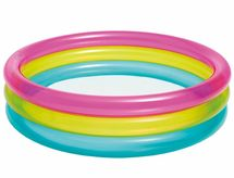INTEX - baby nafukovací bazén 86x25 cm trojbarevný 57104